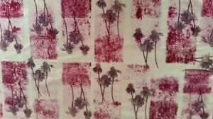 Hand-printed fabric by Ruth Hartmann