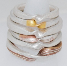 2017 Stack of Rings : One Twist : Karin Sheldon