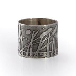 Carol Powell 3 Bulrush ring