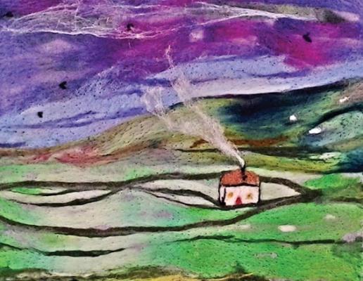 Sharon.Shaul white cottage