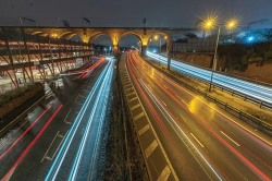 Stockport Viaduct Night Trails